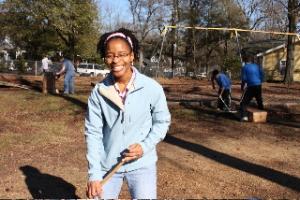 NCSSM biology teacher Korah Wiley, facilitator of the students' service proejct