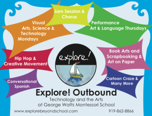 Explore brochure for the 2010-2011 school year